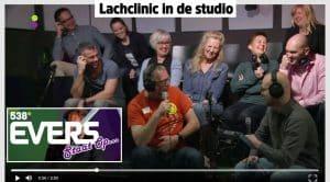 Lachclinic bij Evers-Staat-Op-Radio538